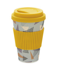 Diamond Bamboo Travel Mug