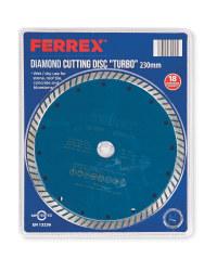 Diamond Cutting Disc Turbo