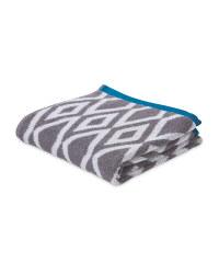 Diamonds Patterned Hand Towel