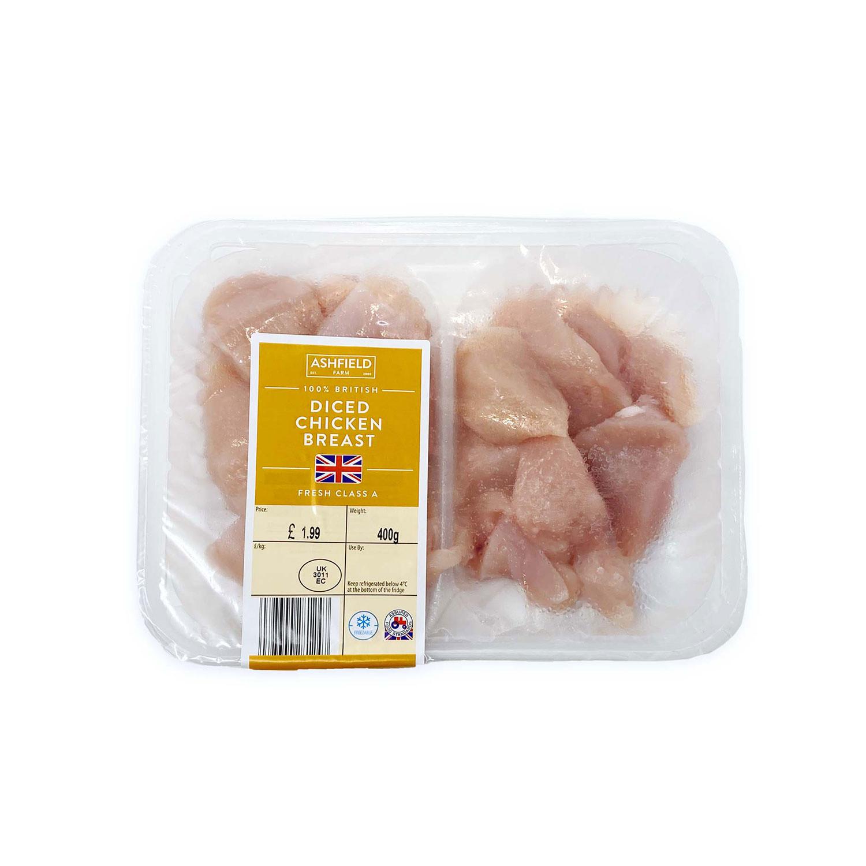 Diced Chicken Breast