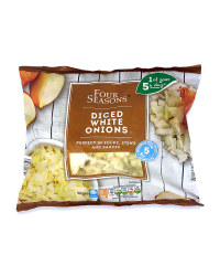 Diced White Onions