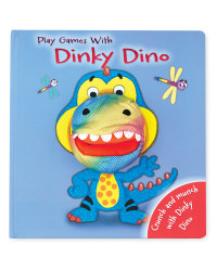 Dinky Dino Hand Puppet Book