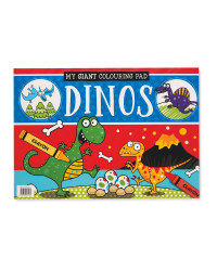 Dinosaur Giant Posters To Colour