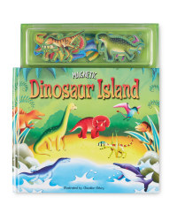Dinosaur Island Magnetic Play Book
