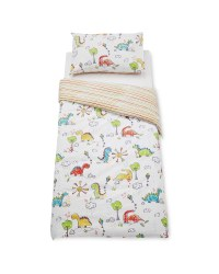Dinosaur Toddler Duvet Cover Set