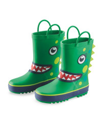 Lily & Dan Kids Dinosaur Wellies
