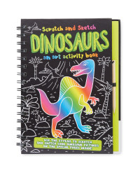 Dinosaurs Scratch and Sketch