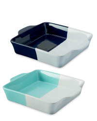 Square Oven To Tableware
