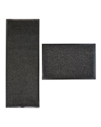 Dark Grey Dirt Buster Mat & Runner