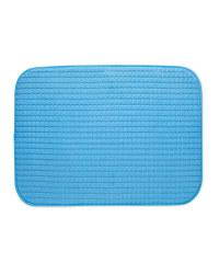 Dish Drying Mat - Blue