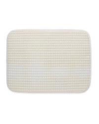 Dish Drying Mat - White