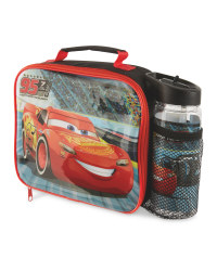 Disney Cars 3 Lunch Bag and Bottle