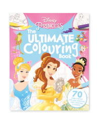 Princess Mixed Colouring Book