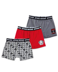 Disney Star Wars Trunks 3-Pack