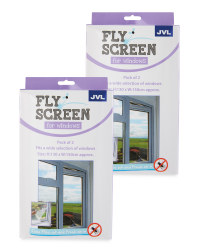 Fly Screen For Windows 2-Pack