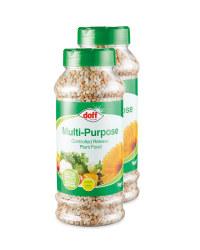 Doff Plant Food Multi Purpose 2 Pack