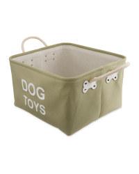 Dog Toys Pet Storage Tub Oblong