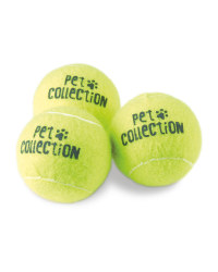 Dogs Large Tennis Balls 3 Pack