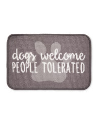 Dogs Welcome Washable Feeding Mat