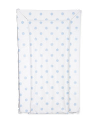 Dotted Baby Changing Mat - Blue