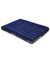 Intex Double Air Bed - Blue