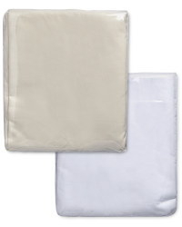 Egyptian Cotton Double Fitted Sheet