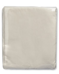 Egyptian Cotton Double Fitted Sheet - Cream