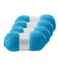 Double Knitting Yarn Teal 4 Pack