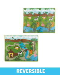 Double Sided Jungle Play Mat