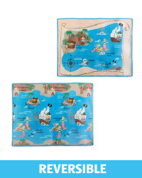 Double Sided Pirate Play Mat
