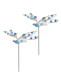 Dragonfly Garden Stake 2 Pack