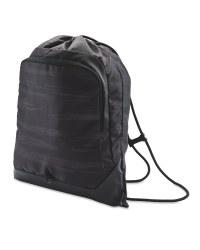 Drawstring Fitness Bag - Black