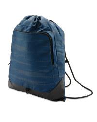 Drawstring Fitness Bag - Blue