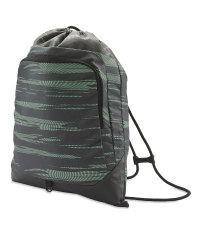 Drawstring Fitness Bag - Green