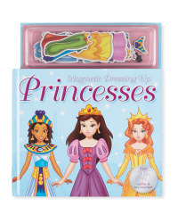 Dressing Up Princess Magnetic Book