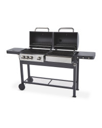 Gardenline Dual Fuel Barbecue