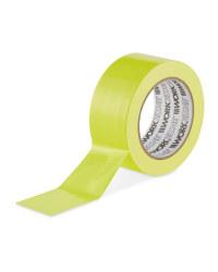 Neon Yellow Adhesive Tape
