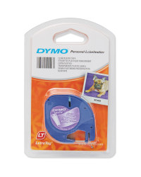 Dymo Plastic Labels - Clear