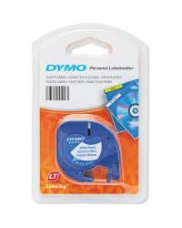 Dymo Plastic Labels - White