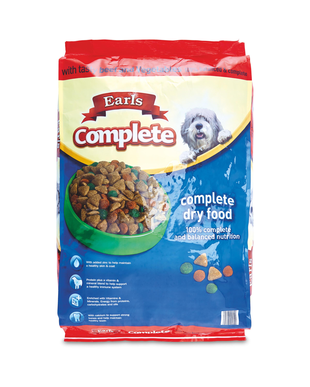 Earls Complete Dry Food Beef 17kg Aldi Uk