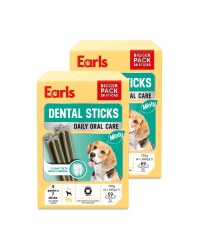 Earls Minty Dental Sticks 56 Pack
