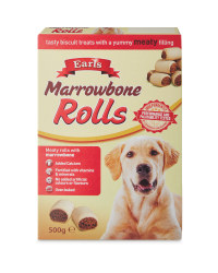 Earls Marrowbone Rolls Dog Biscuits