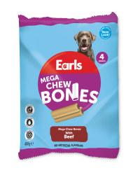 Earls Mega Chew Bones 4 Pack