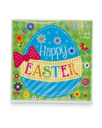 Easter Cards 8pk
