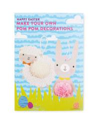 Easter Craft Kit Pom Pom Decorations