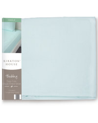 Easy Care Single Fitted Sheet - Blue