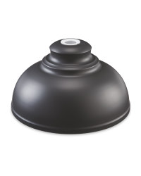 Easy-Fit Charcoal Pendant Shade