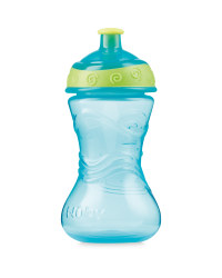 Nuby Easy Grip Pop-Up Cup - Aqua