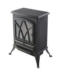Easy Home Black Electric Stove