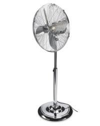 Easy Home Chrome Pedestal Fan